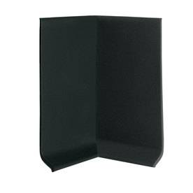 FLEXCO 30-Pack 4-in W x 0.25-ft L Black Dahlia Vinyl Inside Corner Wall Base