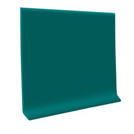 FLEXCO 30-Pack 6-in W x 4-ft L Polo Green Flexco Vinyl Wall Base VCB