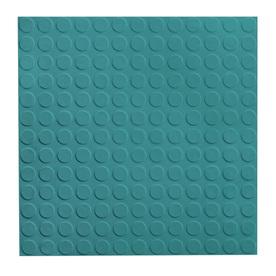 FLEXCO 18-In x 18-In Mediterranean Green Pattern Commercial Vinyl Tile