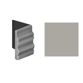 FLEXCO 4.5-in W x 0.5-ft L Pebble Wall Base