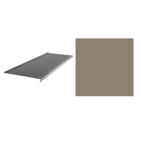 FLEXCO 12-3/8-in x 36-in Dark Beige Stair Nose Moulding