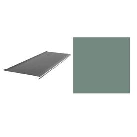 FLEXCO 10-Pack Vizcaya Palm Vinyl Rib Square Nose Stair Treads
