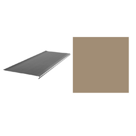 FLEXCO 12-3/8-in x 42-in Cappuccino Stair Nose Moulding