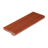 FLEXCO 2-3/4-in x 78-in Brazilian Cherry Stair Nose Moulding