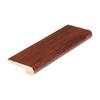 FLEXCO 2-3/4-in x 78-in White Oak Brownstone Stair Nose Moulding