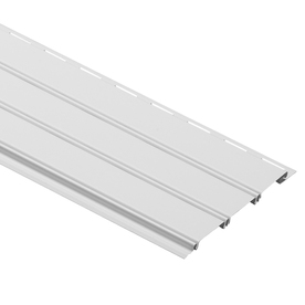 Durabuilt 8-5/8-in x 144-in White Solid Soffit