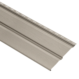 Durabuilt 11.032-in x 144-in Stone Clay Dutch Lap Vinyl Siding Panel