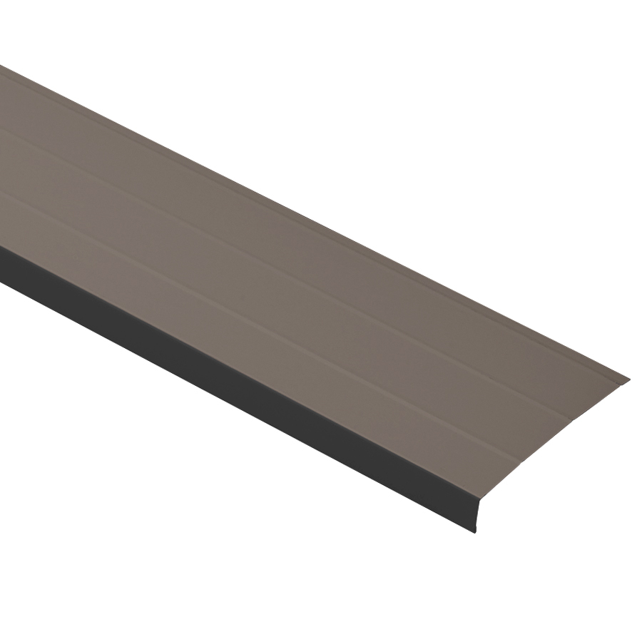 Shop Durabuilt 6-in Musket Brown Aluminum Fascia at Lowes.com