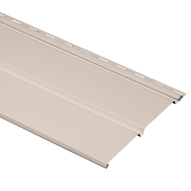 Durabuilt 11-3/8-in x 12-ft Heather Double Solid Soffit