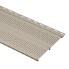 Durabuilt 11-3/8-in x 12-ft Stone Clay Double Vented Soffit