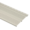 Durabuilt 11-3/8-in x 12-ft Ivory Double Vented Soffit