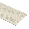 Durabuilt 11-3/8-in x 12-ft Cream Double Vented Soffit