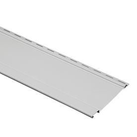 Durabuilt 17-Pack 8.2-in x 120-in Graystone Board and Batten Vinyl Siding Panels