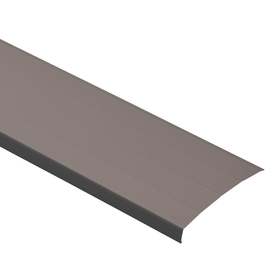 Durabuilt 8-in Royal Brown Aluminum Fascia