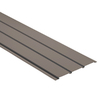 Durabuilt 13-1/4-in x 12-ft Musket Brown Triple Solid Soffit
