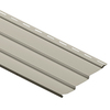 Durabuilt 10-1/48-in x 145-in Ivory Traditional Vinyl Siding