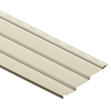 Durabuilt 10-1/48-in x 145-in Cream Traditional Vinyl Siding