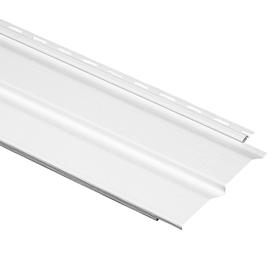 Durabuilt 9.3-in x 150-in White Dutch Lap Vinyl Siding Panel