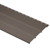 Durabuilt 12.1-in x 12-ft Musket Brown Triple Solid Soffit
