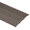 Durabuilt 16-Pack 12.1-in x 144-in Musket Brown Triple Solid Soffit