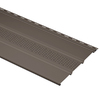 Durabuilt 12-1/8-in x 144-in Musket Brown Triple Center Vented Soffit