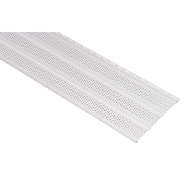 Durabuilt 12-1/8-in x 12-ft White Triple Vented Soffit