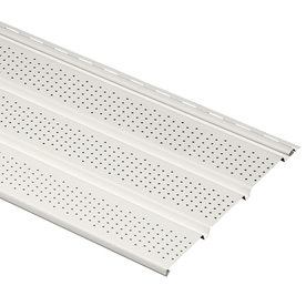 Durabuilt 12-1/8-in x 12-ft Linen Triple Vented Soffit