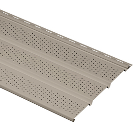 Durabuilt 16-Pack 12.1-in x 144-in Stone Clay Triple Vented Soffit