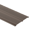 Durabuilt 12-in x 12-ft Musket Brown Double Vented Soffit