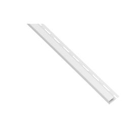 Durabuilt 1.5-in x 150-in White J-Channel Vinyl Siding Trim
