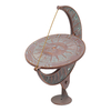 Whitehall 15.5-in H Verdigris Sundial