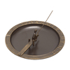Whitehall 8-in H French Bronze Sundial