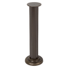 Whitehall 8-in Dia x 26-in H Weathered Bronze Sundial