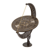 Whitehall 12-in Dia x 15.5-in H French Bronze Sundial