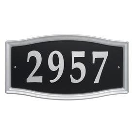 display product reviews for 825 in satin nickel house number home address system