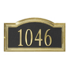 DeSign-it Satin Brass Arch Plaque