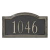 DeSign-it Brushed Nickel Arch Plaque
