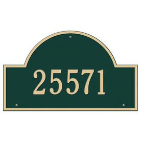 Whitehall Estate Arch Marker Green/Gold