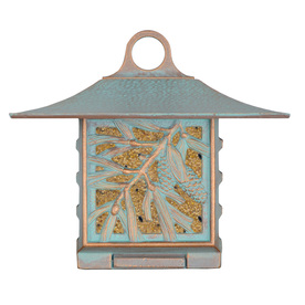 Whitehall Copper Verdi 1-Cake Metal Suet Feeder