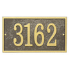 Whitehall 6.25-in x 11-in Rectangle Plaque