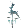 Whitehall Whitehall Products Copper Deer Weathervane - Verdigris