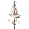 Whitehall Whitehall Products Copper Sailboat Weathervane - Polished