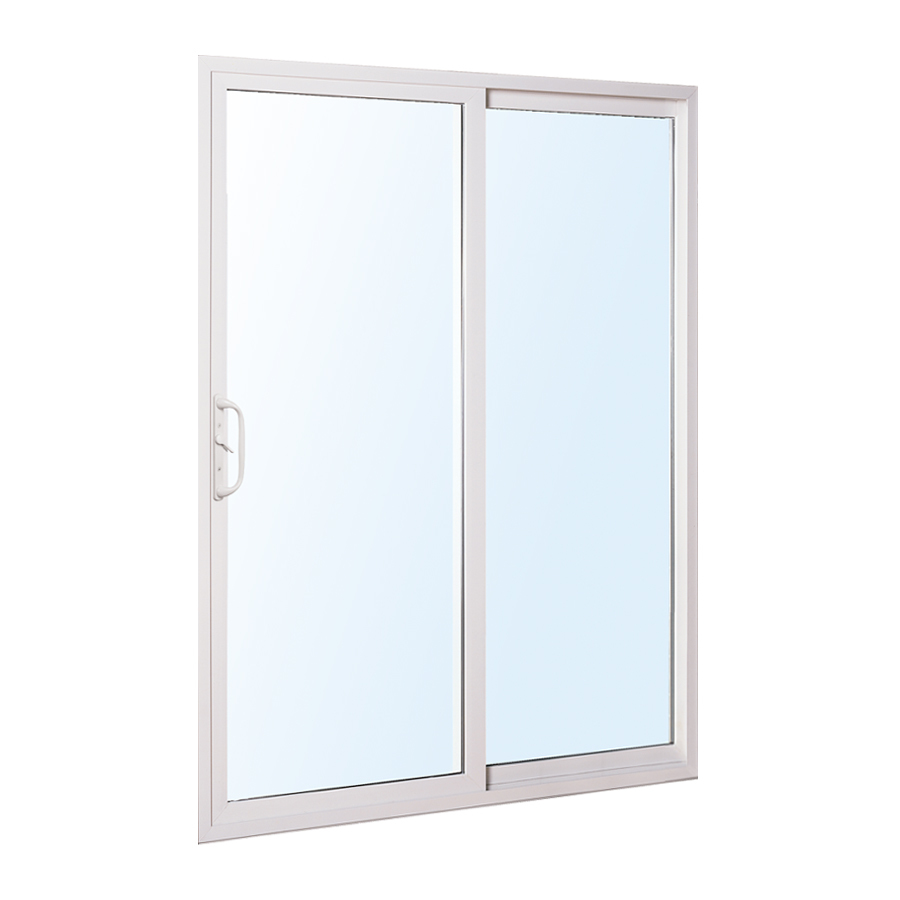 Patio door vinyl sliding patio door reviews for Backyard sliding door