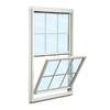 ReliaBilt 150 Series Vinyl Double Pane Single Strength New Construction Single Hung Window (Rough Opening: 24-in x 36-in; Actual: 23.5-in x 35.5-in)