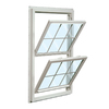 ReliaBilt 455 Series Vinyl Double Pane Single Strength New Construction Double Hung Window (Rough Opening: 36-in x 54-in Actual: 35.5-in x 53.5-in)