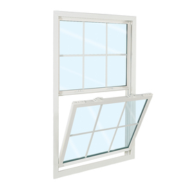 ReliaBilt 3100 Series Vinyl Double Pane Single Strength Replacement Single Hung Window (Rough Opening: 24-in x 36-in; Actual: 23.75-in x 35.75-in)