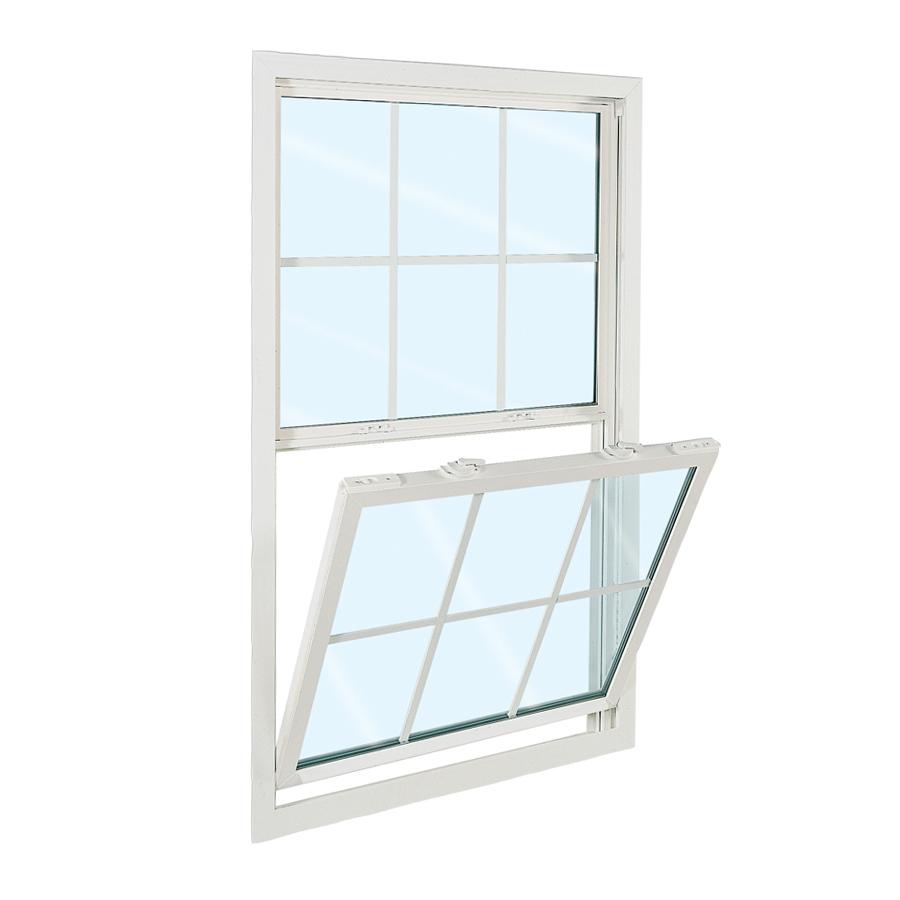 Shop reliabilt 3100 series series vinyl double pane single for Vinyl windows