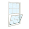 ReliaBilt 3100 Series Vinyl Double Pane Single Strength Replacement Single Hung Window (Rough Opening: 32-in x 54-in; Actual: 31.75-in x 53.75-in)