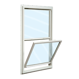 ReliaBilt 150 Series Vinyl Double Pane Single Strength New Construction Egress Single Hung Window (Rough Opening: 36-in x 62-in; Actual: 35.5-in x 61.5-in)
