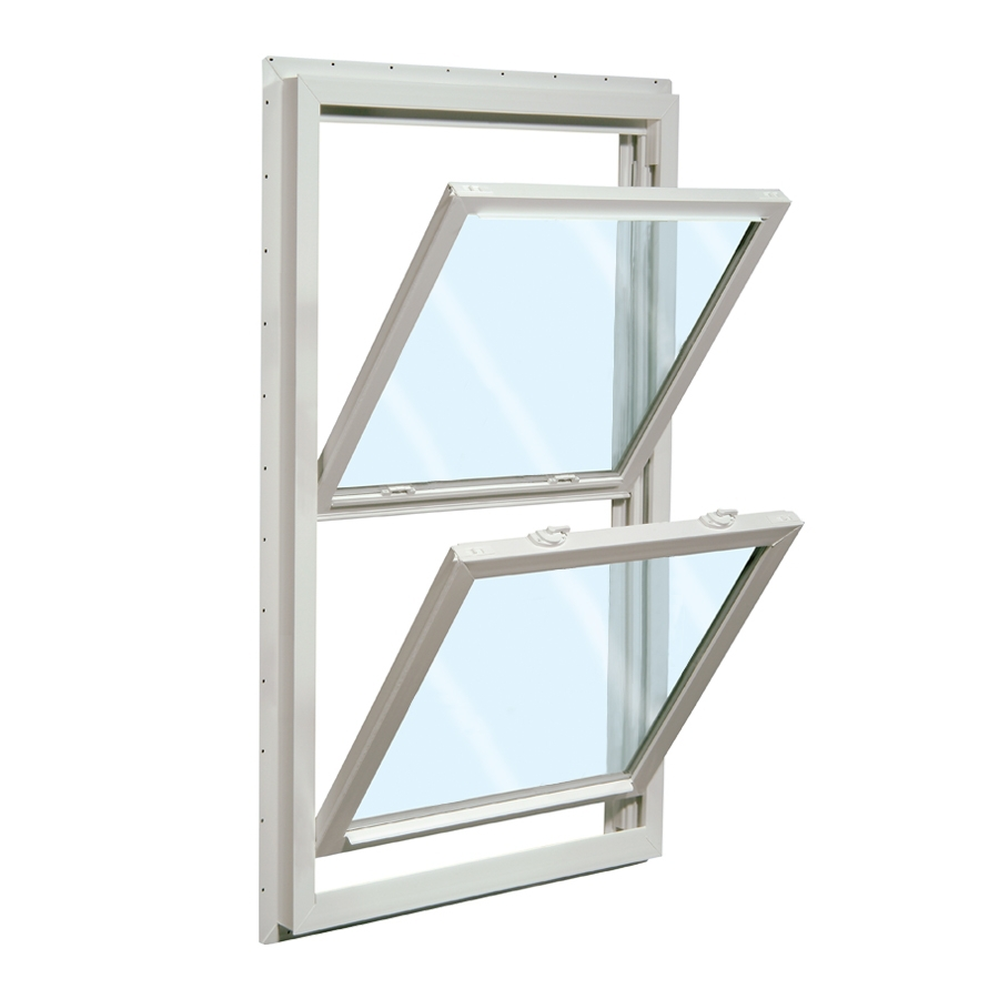 shop reliabilt 32 in x 36 in 455 series vinyl double pane